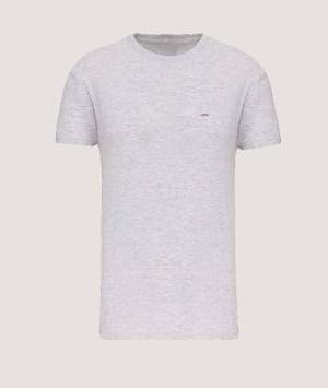 T-shirt BIO150 col rond homme - Ash heater