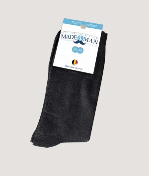 Chaussettes gris anthracite