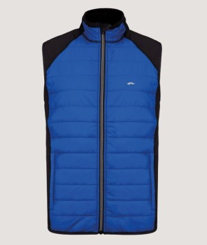 Veste sport BO-matière sans manches blue/black