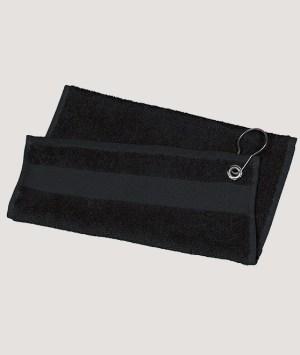 Serviette de Golf - Black