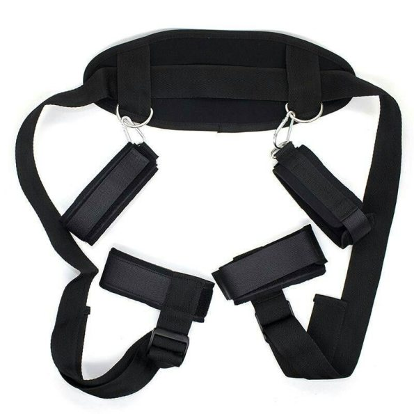 Adjustable Neck Handcuffs Ankle Cuff Straps
