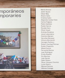 Contemporaneos Cover and Back | Manel Quiros Photography