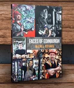 Faces of Edinburgh Cover | Manel Quiros Photography