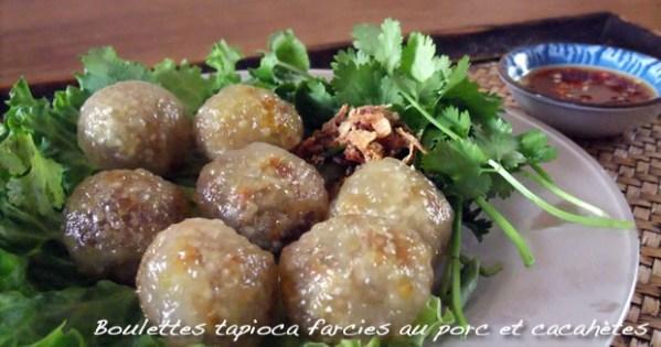 Boulettes de tapioca - Exclusivité du Mango Fusion