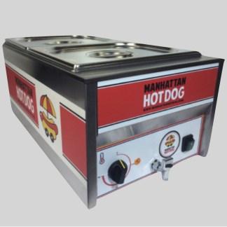 Découvrez notre Machine Hot Dog Mini Cart le compromis parfait entre productivité maximale de HotDogs et simplicité d'utilisation !