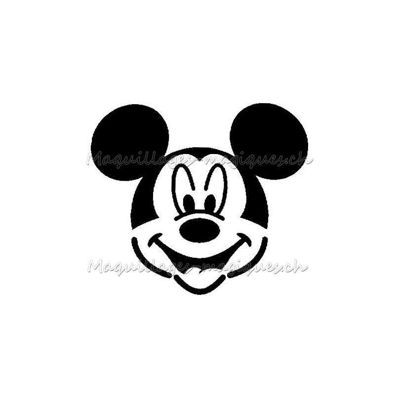 Pochoir Adhesif Mickey Tatouage Enfant Anniversaire Glitter Tattoo Maquillages Magiques