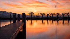 www.marcweiler.ch Rapperswil Hafen Sunset
