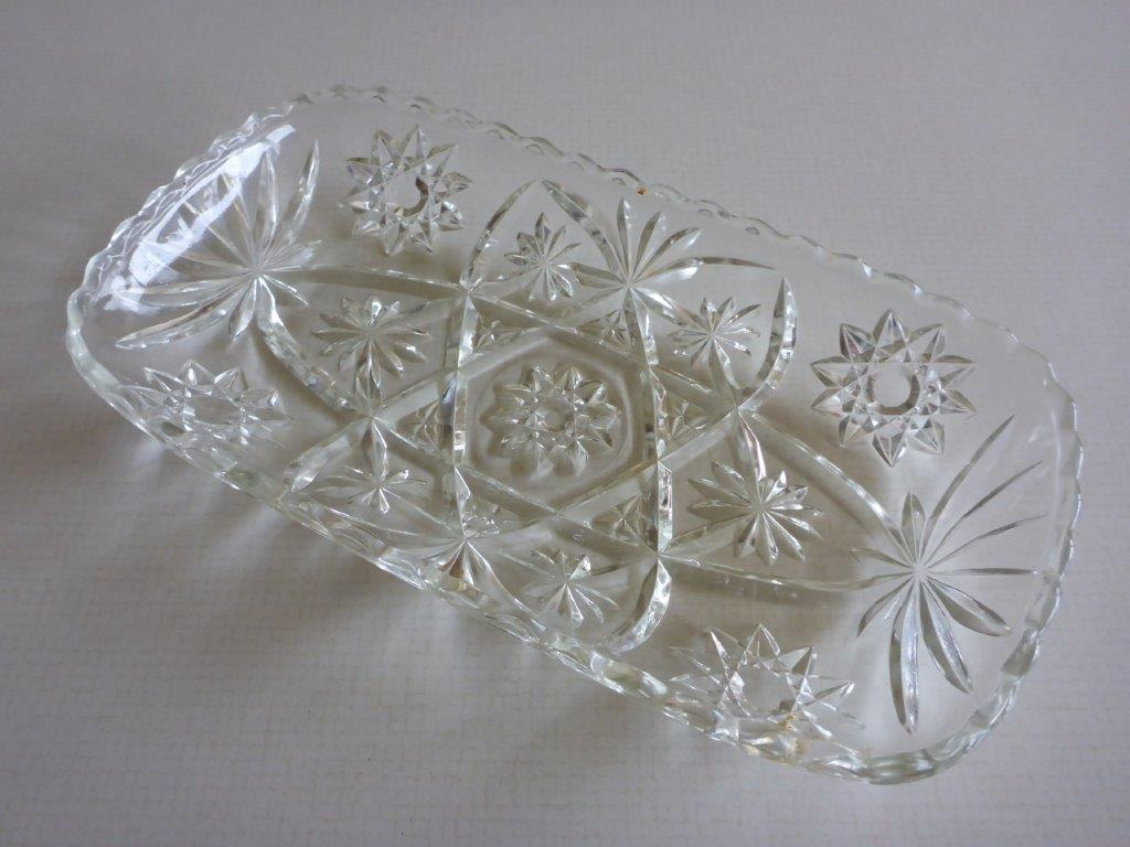glass cake dish
