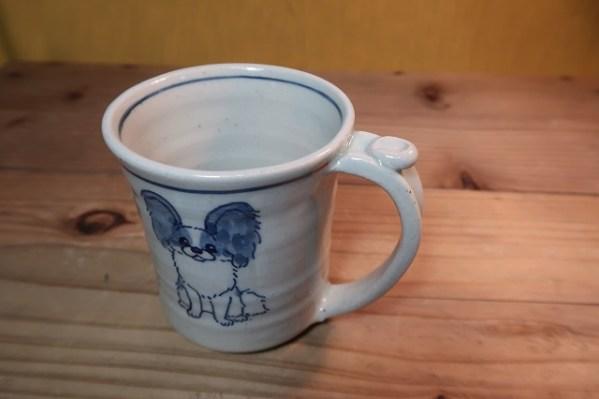 マグカップ パピヨン