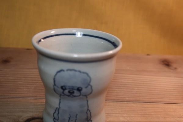 湯呑 トイプードル