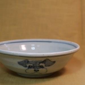 15cm浅鉢 シュナウザー