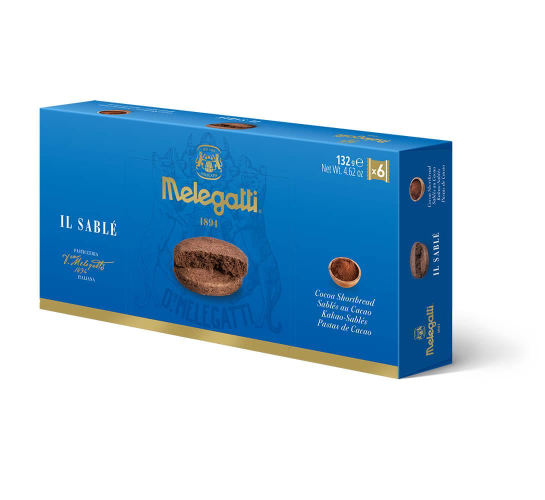 Biscotti Il Sablè Al Cacao Melegatti PF-BIS012
