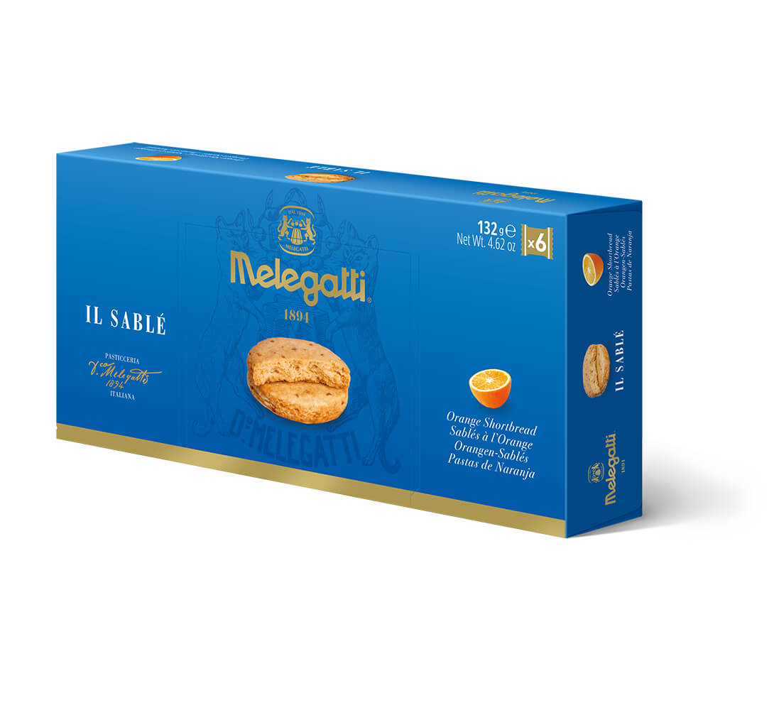 Biscotti Il Sablè All'Arancia Melegatti PF-BIS009