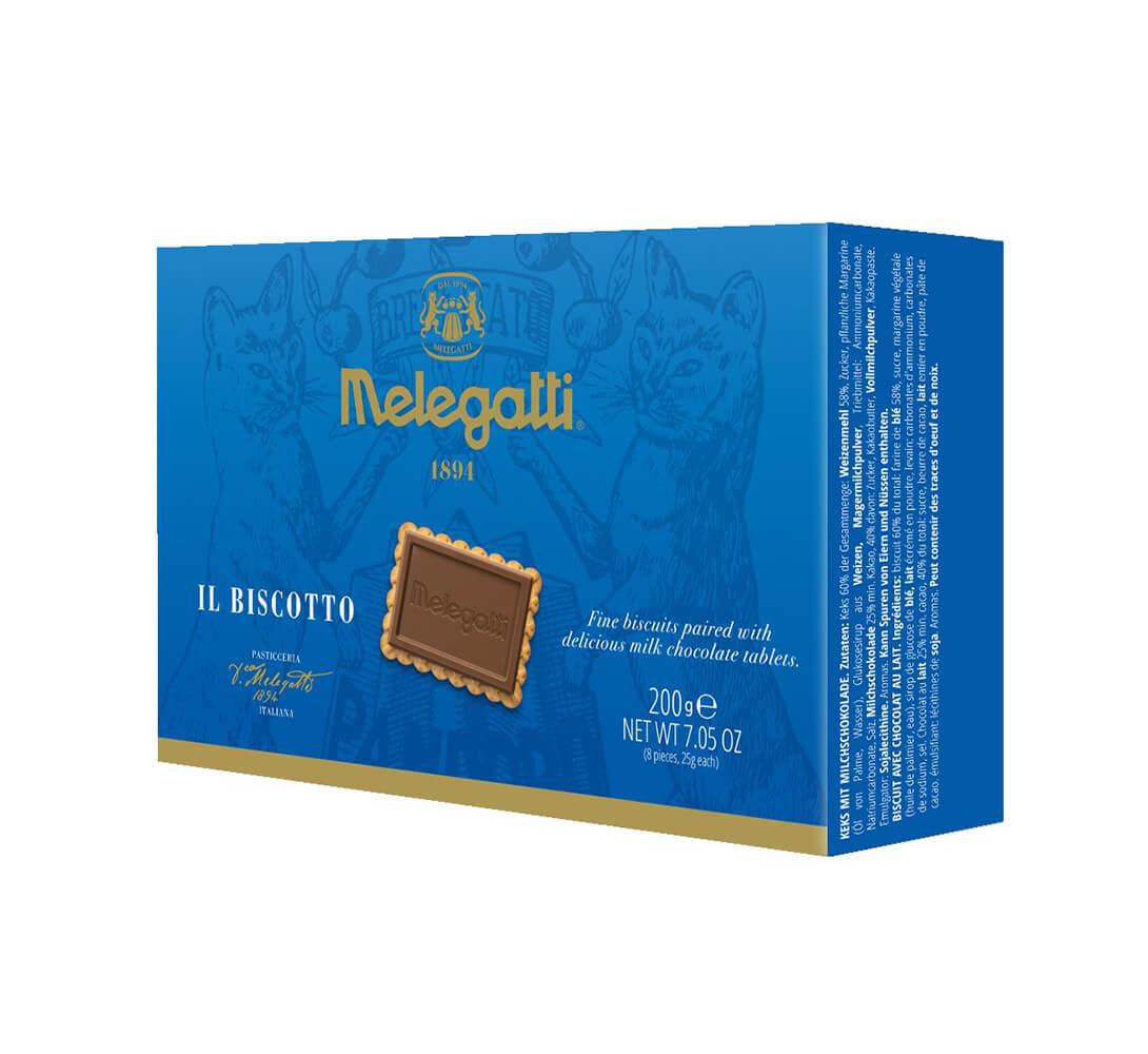 Biscotto Al Cioccolato Al Latte Melegatti PF-BIS002