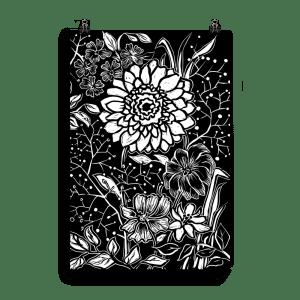 flower poster gebera