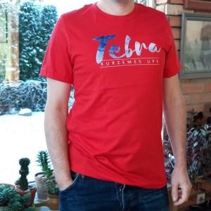 Krekls ar apdruku Tebra