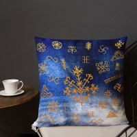 Zvaigznes. Spilvens. Premium Pillow