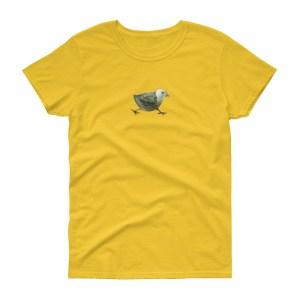 zvirbulis uz krekla