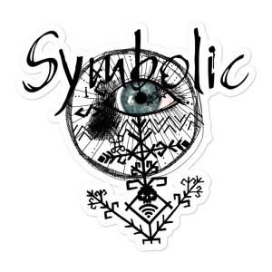 Grupas Symbolic logo vinila uzlīme