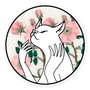 sticker catwoman