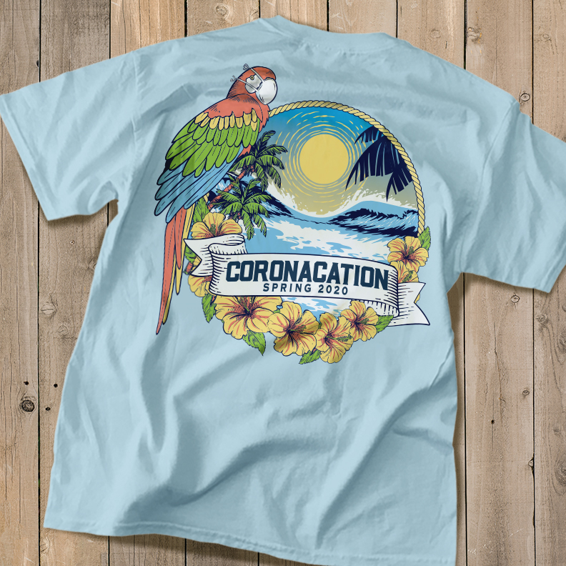 Coronacation Shirt Tropical