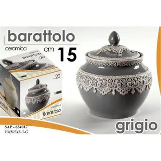 SAP/BARATTOLINO GRIGIO 15CM YM50743/3/G