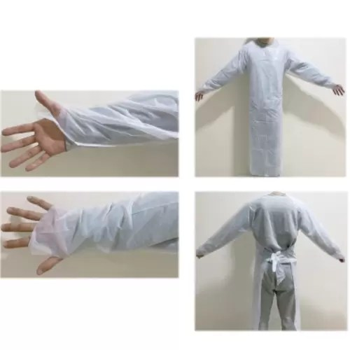 ISOLATION GOWN WHITE 2