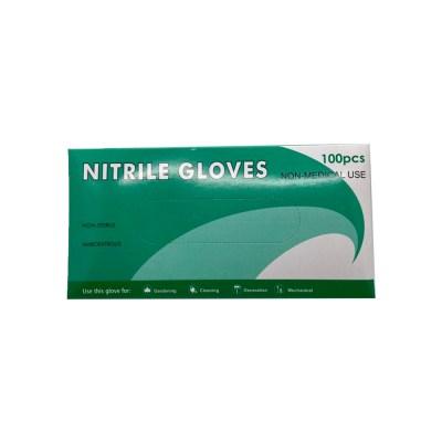 NITRILE GLOVES BOX FRONT