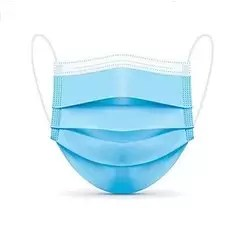 3PLY BLUE PROTECTIVE FACE MASK
