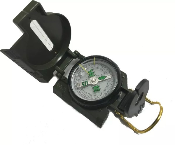 Military Style Lensatic Compass-0