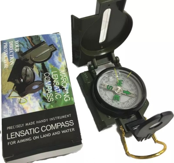 Military Style Lensatic Compass-23