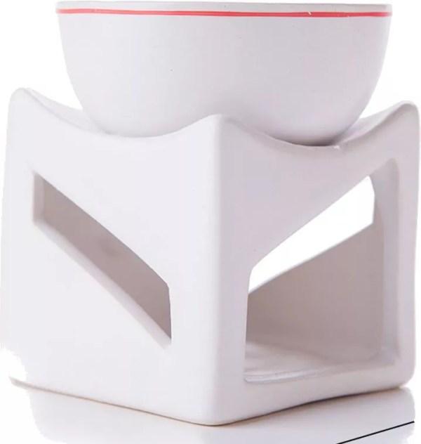 White Tea Light Oil Warmer-196