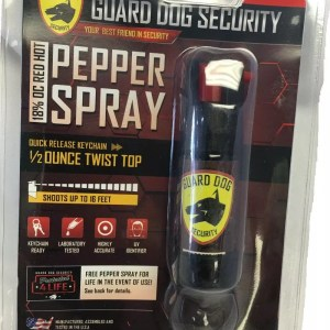Guard Dog 1/2 ounce Pepper Spray with Pocket Clip-0