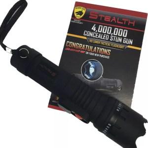 Guard Dog Stealth 4MV stun gun with flashlight-0