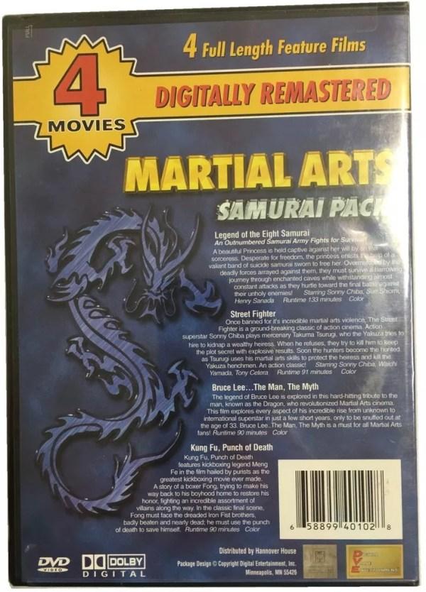 Martial Arts Samurai Pack-945