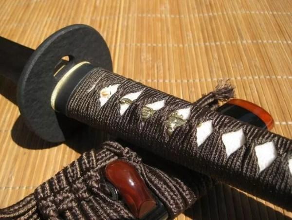 Dojo Pro Katana #13, Round tsuba design-749