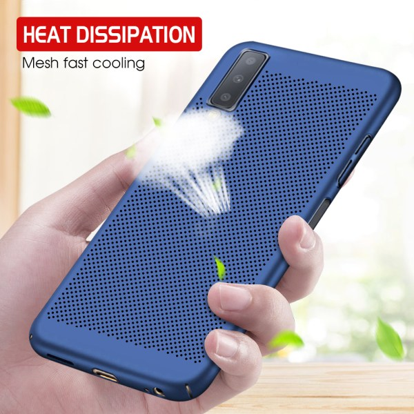 Samsung Galaxy S10 Plus S10e A6 A8 Plus J6 J4 J7 J8 A9S 2018 J5 J7 Prime Hard PC Heat Dissipation Cover