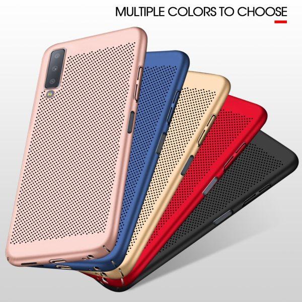 Samsung Galaxy S10 Plus S10e A6 A8 Plus J6 J4 J7 J8 A9S 2018 J5 J7 Prime Hard PC Heat Dissipation Cover