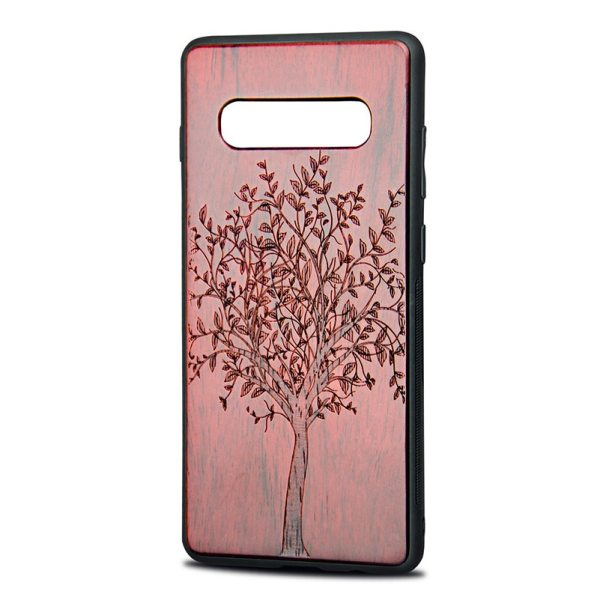 Samsung Galaxy S10 plus,S10,S10 lite Case New Retro Wooden Carving Cover
