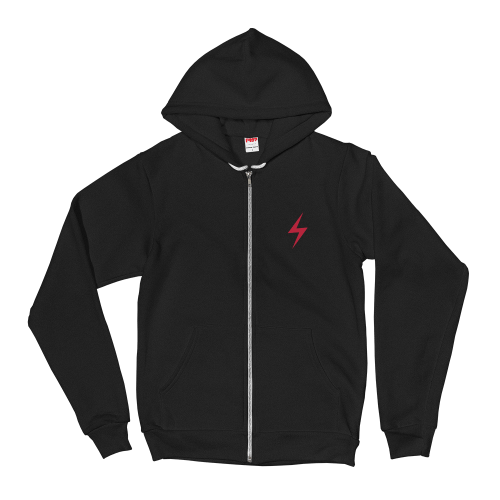 Raygun Hoodie, front