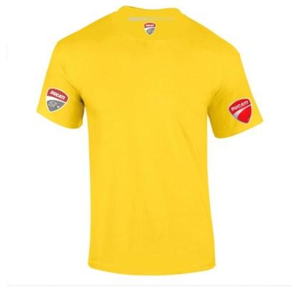 ST-Ducati T-shirt Geel Lady-fit