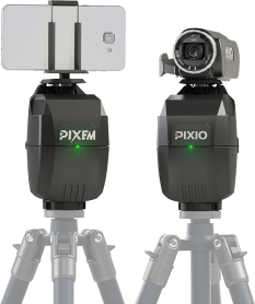 PIXEM & PIXIO your indoor and outdoor robots cameramen