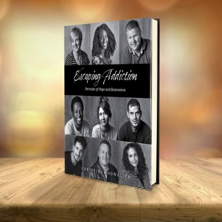 promotional image of escaping addiction book