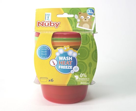Nuby Snack Bowls with Lids