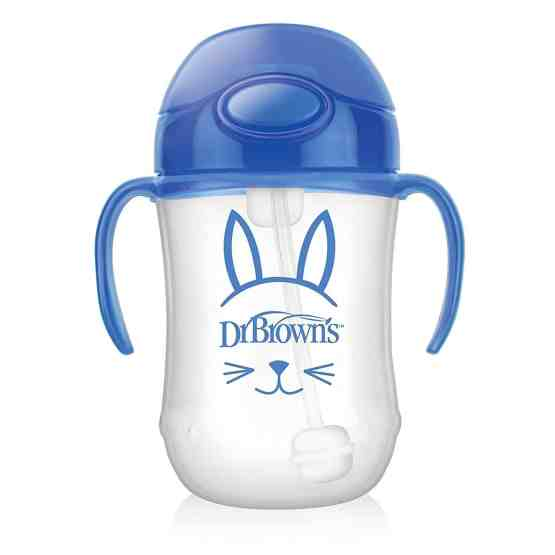 Dr. Brown's First Straw Cup- Blue