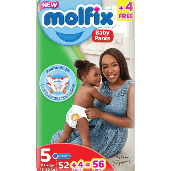 Molfix Pants Junior Size 5- 52 Count