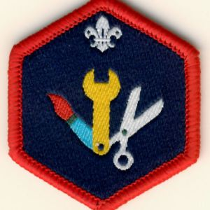 106180 Scout Skills Challenge Award Badge