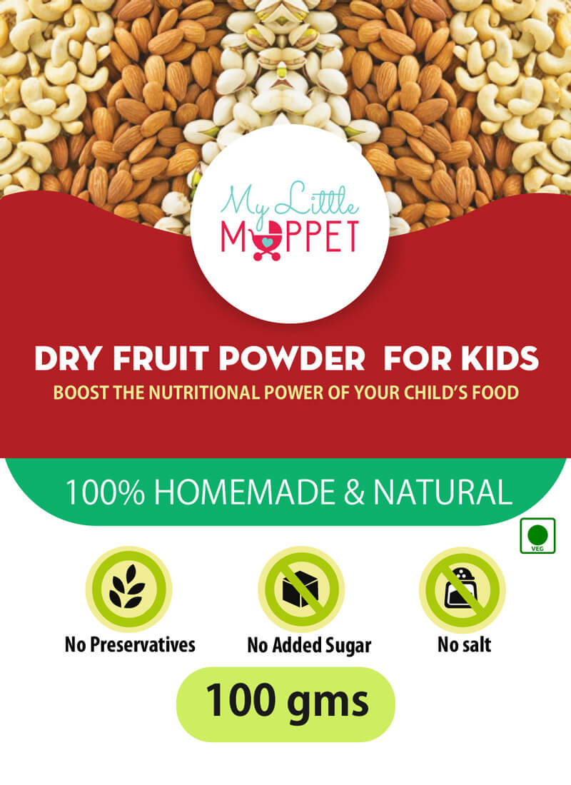 dry fruits powder for babies