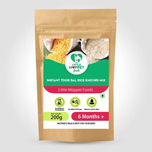 Instant Rice Khichdi with Toordal