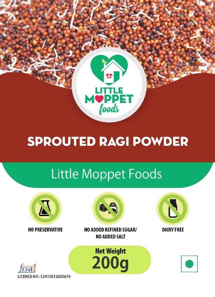 Sprouted Ragi Powder